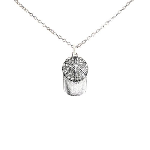 crystal softball cap hypoallergenic adjustable necklace safe - nickel & lead free