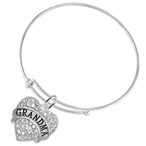 "the perfect gift ""grandma"" hypoallergenic bracelet  ©2015, safe - nickel free"