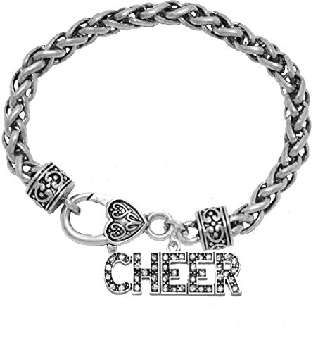 Cheer Crystal Bracelet, Safe - Hypoallergenic, Nickel, Lead & Cadmium Free!