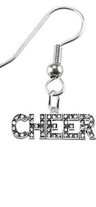 Cheer Crystal Earrings, Safe - Hypoallergenic, Nickel, Lead & Cadmium Free!