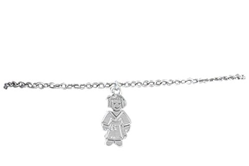 karate girl adjustable childrens hypoallergenic safe bracelet. nickel, lead & cadmium free