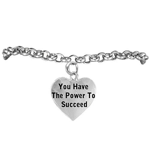 you have the power to succeed, adjustable, safe - hypoallergenic, nickel, lead & cadmium free!