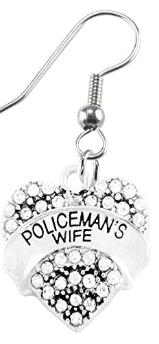 Policeman's Wife Earring, Safe - Nickel, Lead & Cadmium Free!