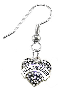 Hair Dresser Earring, Safe - Nickel, Lead & Cadmium Free!
