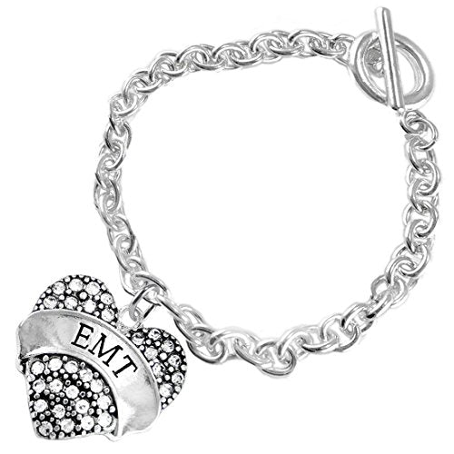 "the perfect gift ""emt"" hypoallergenic bracelet, safe - nickel, lead & cadmium free!"