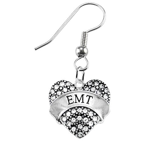 "the perfect gift ""emt"" hypoallergenic earring, safe - nickel, lead & cadmium free!"