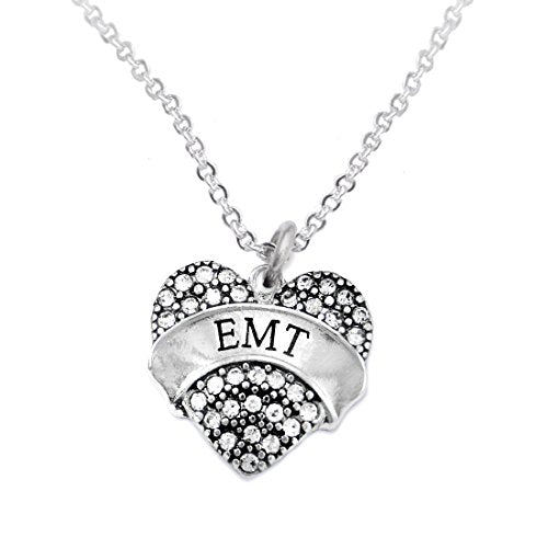 """the perfect gift """"emt"""" hypoallergenic necklace, safe - nickel, lead & cadmium free!"""