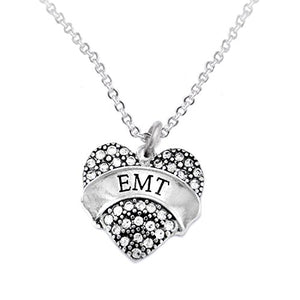 "The Perfect Gift ""EMT"" Hypoallergenic Necklace, Safe - Nickel, Lead & Cadmium Free!"