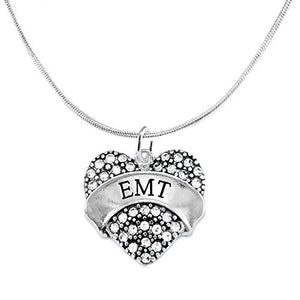 "The Perfect Gift ""EMT"" Adjustable Hypoallergenic Necklace, Safe - Nickel, Lead & Cadmium Free!"