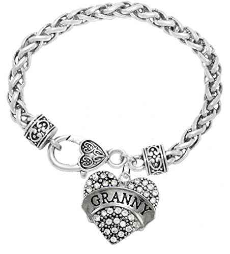 """the perfect gift """"granny"""" hypoallergenic bracelet, safe - nickel free"""