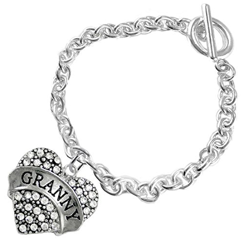 """the perfect gift """"granny"""", fits everyone hypoallergenic bracelet, safe - nickel free"""