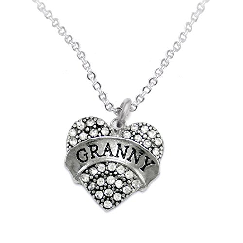 """the perfect gift """"granny"""" adjustable hypoallergenic necklace, safe - nickel & lead free!"""