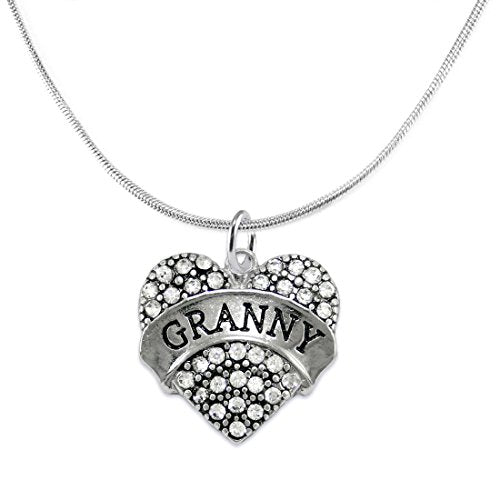 "the perfect gift ""granny"" adjustable hypoallergenic necklace, safe - nickel & lead free!"