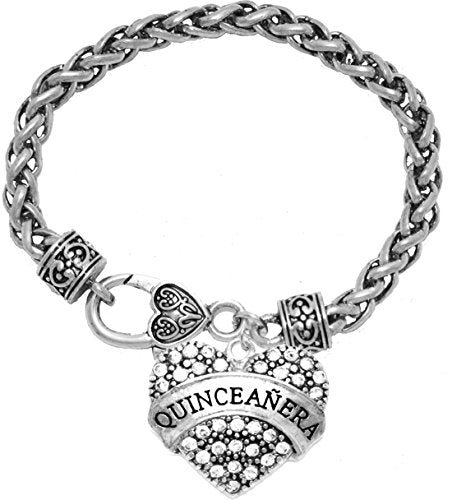 the perfect gift quinceanera hypoallergenic bracelet,  ©2015 safe - nickel, lead & cadmium free!