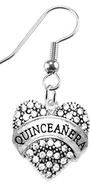 The Perfect Gift Quinceanera Hypoallergenic Earring, Safe - Nickel, Lead & Cadmium Free!