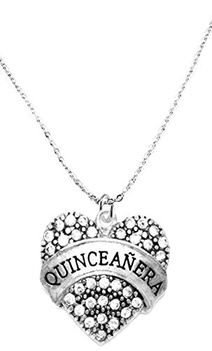 the perfect gift quinceanera hypoallergenic necklace, safe - nickel, lead & cadmium free!