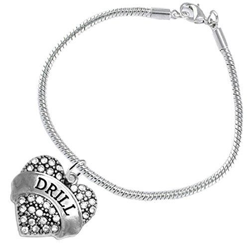 """the perfect gift """" drill """" hypoallergenic bracelet, safe - nickel and lead free"""