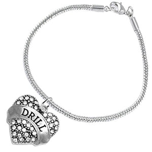 "The Perfect Gift "" Drill "" Hypoallergenic Bracelet, Safe - Nickel and Lead Free"