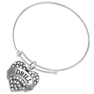 "The Perfect Gift "" Drill "" Adjustable Hypoallergenic Bracelet, Safe - Nickel and Lead Free"