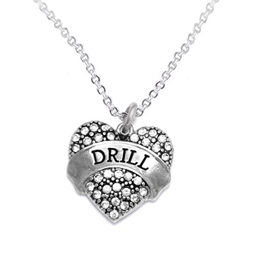 "the perfect gift "" drill "" adjustable hypoallergenic necklace, safe - nickel and lead free"