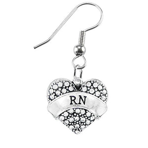 "The Perfect Gift ""RN"" Hypoallergenic Earring, Safe - Nickel, Lead & Cadmium Free!"