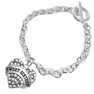 The Perfect Gift Sweet Sixteen Hypoallergenic Bracelet, ©2015 Nickel & Lead Free!