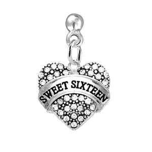 The Perfect Gift Sweet Sixteen Hypoallergenic Earring, ©2015 Nickel & Lead Free!