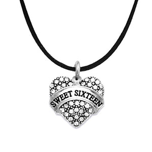 The Perfect Gift Sweet Sixteen Hypoallergenic Necklace, ©2015 Nickel & Lead Free!