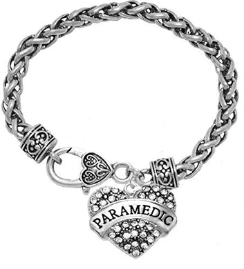 The Perfect Gift Paramedic Hypoallergenic Bracelet, Safe - Nickel, Lead & Cadmium Free!