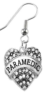 The Perfect Gift Paramedic Hypoallergenic Earring, Safe - Nickel, Lead & Cadmium Free!