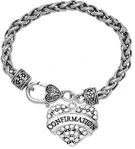 "The Perfect Gift ""Confirmation"" Hypoallergenic Bracelet, Safe - Nickel, Lead & Cadmium Free!"