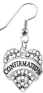 "The Perfect Gift ""Confirmation"" Hypoallergenic Earring, Safe - Nickel, Lead & Cadmium Free!"