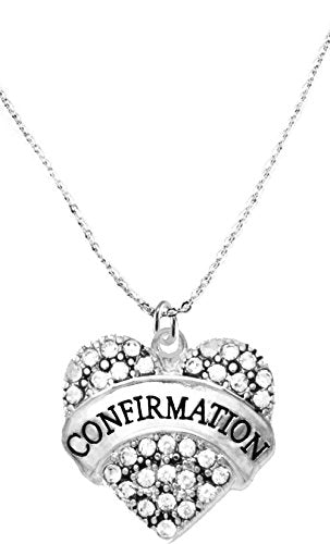 "the perfect gift ""confirmation"" hypoallergenic necklace, safe - nickel, lead & cadmium free!"