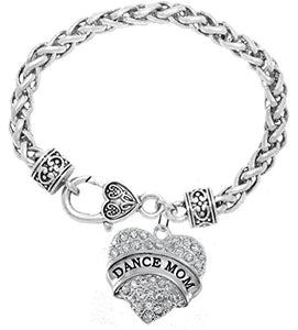 Dance Mom Charm Bracelet, Safe - Nickel, Lead & Cadmium Free!