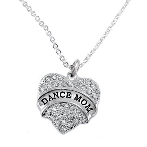 dance mom necklace, safe - nickel, lead & cadmium free!