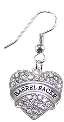 Barrel Racer Crystal Earring, Safe - Nickel, Lead & Cadmium Free!