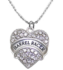 Barrel Racer Crystal Necklace, Safe - Nickel, Lead & Cadmium Free!