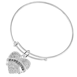 "The Perfect Gift ""Caregiver"" Adjustable Hypoallergenic Bracelet, Safe - Nickel & Lead Free"