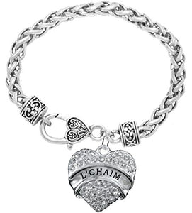 "The Perfect Gift ""L'Chiam"" Hypoallergenic Bracelet, Safe - Nickel, Lead & Cadmium Free!"