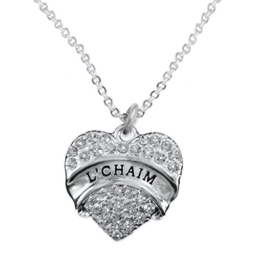 """the perfect gift """"l €™chiam"""" hypoallergenic necklace, safe - nickel, lead & cadmium free!"""