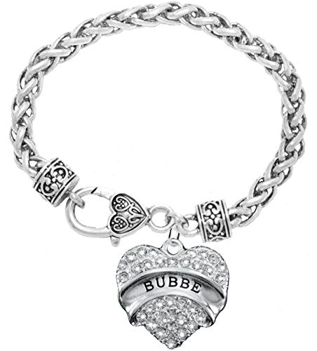 "the perfect gift ""bubbe"" hypoallergenic bracelet, safe - nickel, lead & cadmium free!"