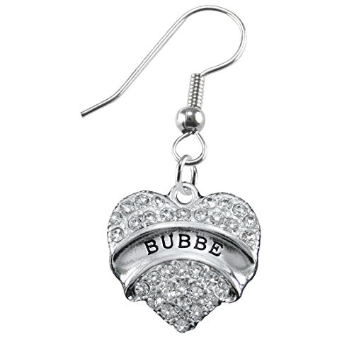 "the perfect gift ""bubbe"" hypoallergenic earring, safe - nickel, lead & cadmium free!"