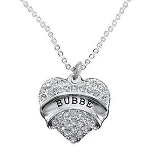 "The Perfect Gift ""Bubbe"" Hypoallergenic Necklace, Safe - Nickel, Lead & Cadmium Free!"