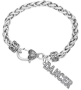 Dancer Hypoallergenic Safe Bracelet. Nickel, Lead & Cadmium Free