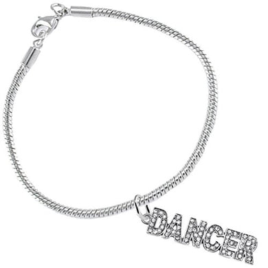 Beautiful Dancer Hypoallergenic Safe Bracelet. Nickel, Lead & Cadmium Free