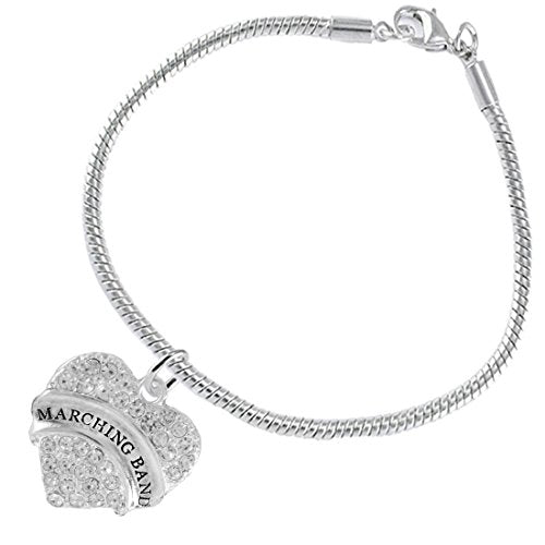 "the perfect gift "" marching band "" hypoallergenic bracelet, safe - nickel & lead free"