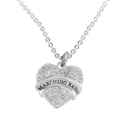 """the perfect gift """" marching band """" adjustable hypoallergenic necklace, safe - nickel & lead free"""