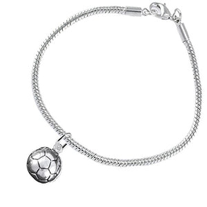 "The Perfect Gift ""Soccer Jewelry"" ©2016 Hypoallergenic Bracelet, Safe - Nickel & Lead Free"
