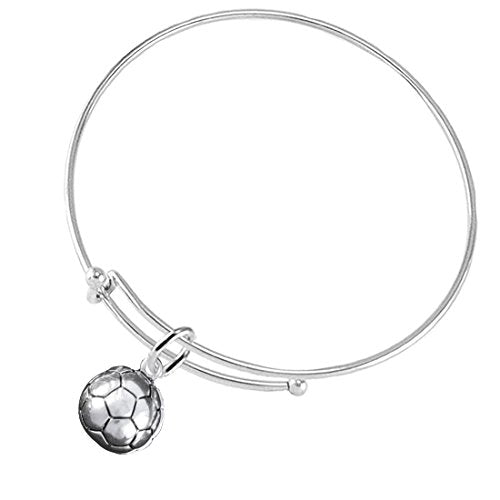 Soccer Jewelry ©2016 Hypoallergenic Adjustable Bracelet, Safe - Nickel & Lead Free