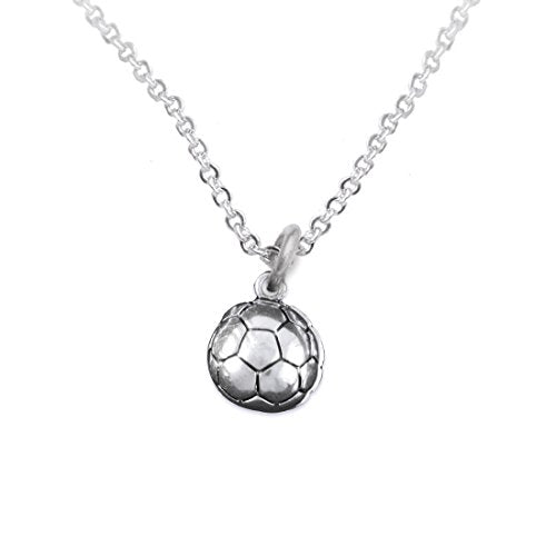 "the perfect gift ""soccer jewelry adjustable necklace""  ©2016 earring, safe - nickel & lead free"